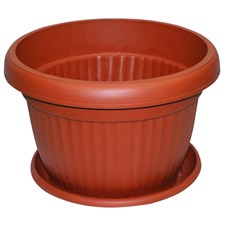 "PLASTIC POT 14"" inches- 6 POT DEAL"