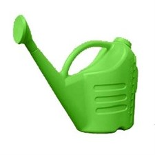 PLASTIC HAND SHOWER GREEN  9 LTE