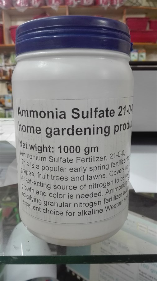 Gardening Fertilizers - Ammonia Sulfate in Pakistan for Rs